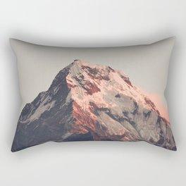 Annapurna peak Rectangular Pillow