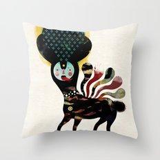 Muxxi & Alvaro Tapia / Duality Throw Pillow