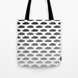 Cloud Gradient Pattern Tote Bag