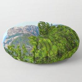 Mt. Rushmore Floor Pillow