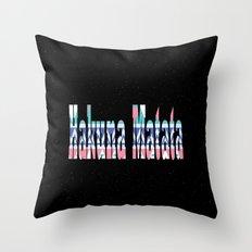 Hakuna Matata stars Throw Pillow