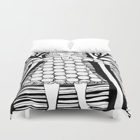 dorothy Duvet Covers featuring Dorothy by sharon cassidy