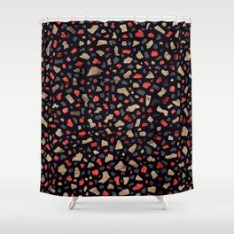 Terrazzo Cola Shower Curtain