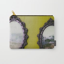 Mirror Mirror on the Wall Mustard Carry-All Pouch