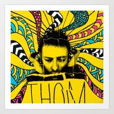Thom Yorke Nightmare Art Print
