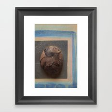 Sleeping Madame Framed Art Print