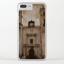San Servacio o Gervasio [Grunge] Clear iPhone Case