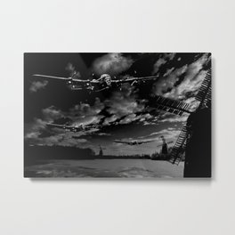 Over Holland 1943 Metal Print