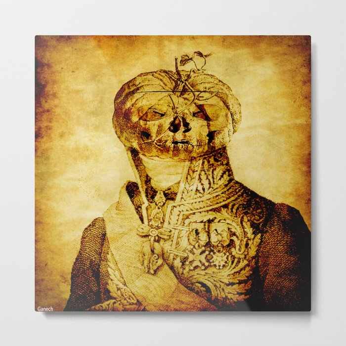 Halloween Man Metal Print
