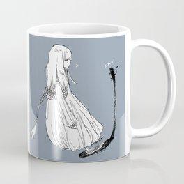 With a shadow cat Coffee Mug