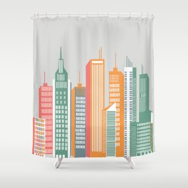 Metropolis / 02 Shower Curtain