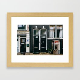 Centrum - Amsterdam, The Netherlands - #7 Framed Art Print
