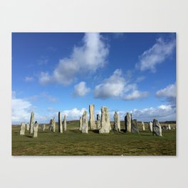 Ancient Stone Circle Canvas Print