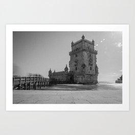 Torre de Belém, Lisbon Art Print