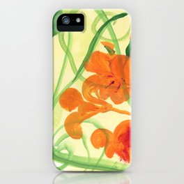 Indian Cress #2 iPhone Case