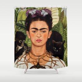 Frida Khalo art Shower Curtain