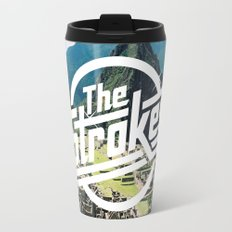 The Strokes Logo Machu Picchu Travel Mug