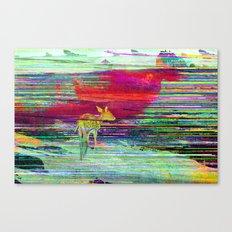 Fawn's World Canvas Print