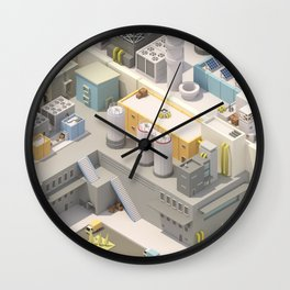 Factory Number 1 Wall Clock
