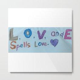 Sami's Art (age 7) Metal Print