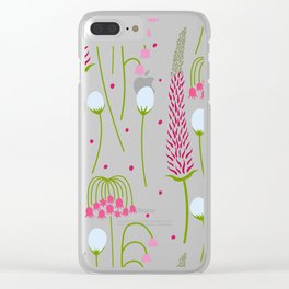 Early Spring Clear iPhone Case
