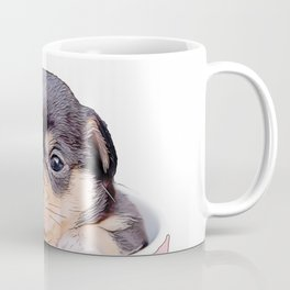 pup in a cup Coffee Mug