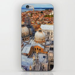 Venezia, Italy ( view from Campanile San Marco ) iPhone Skin