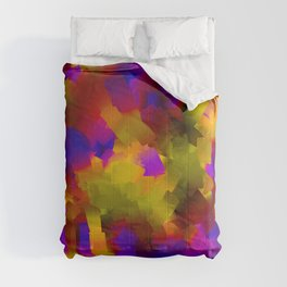 wet knife all the colors Comforters