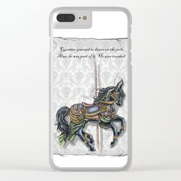 The House: Quentin Clear iPhone Case