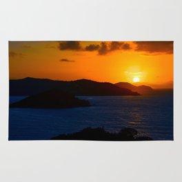 Coral Bay Sunrise Rug