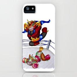 Luchadores iPhone Case