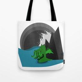 Cthulhu-Kobold Tote Bag