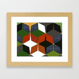 KALEIDOSCOPE 06 #HARLEQUIN Framed Art Print