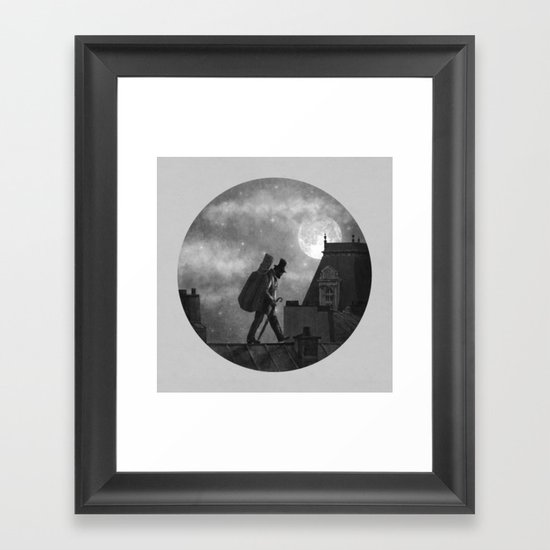 Rooftoppers - Chapter 27  Framed Art Print