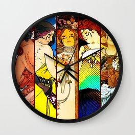 Apocalypto Nouveau Wall Clock