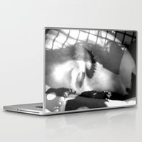 sleep Laptop & iPad Skins featuring Sleep by Shadoe Leibelt