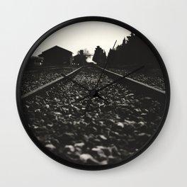 Rails Wall Clock