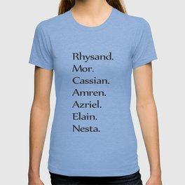 High Lady's Litany B&W T-shirt