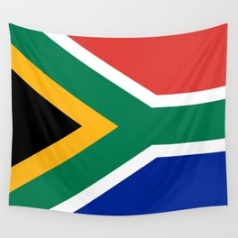 Flag of South Africa, High Quality image Wall Tapestry