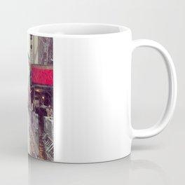 nyc street rain Coffee Mug