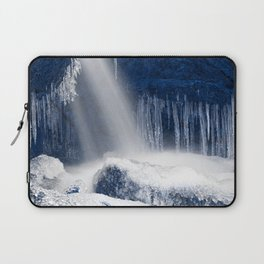 Stream of Blue Frozen Hope Laptop Sleeve