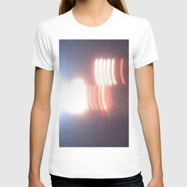 Abstracte Light Art in the Dark Version 27 T-shirt