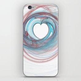 Valentine's Fractal IX - Light iPhone Skin