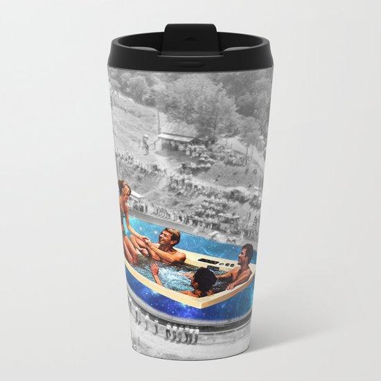 Vintage jacuzzi Metal Travel Mug