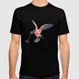 Canada Goose Playing Hockey T-shirt