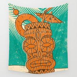 Tiki Cocktail Wall Tapestry