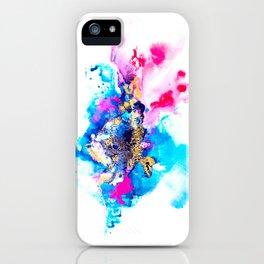 Burst Abstract Artwork iPhone Case