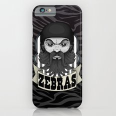 Roller Derby Zebra Referee Ref Logo by Ronkytonk Slim Case iPhone 6s