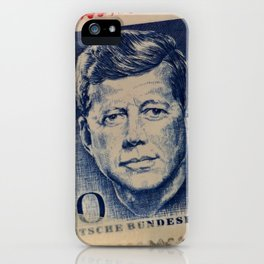 Vintage Stamps (JFK) iPhone Case