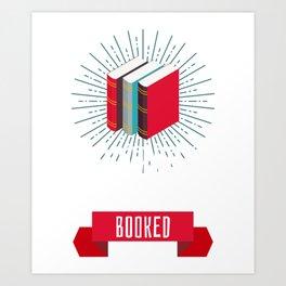 Librarian Book Collector Archivist Reading Art Print